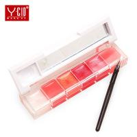 6-colors  lip gloss brand combination   tony moly makeup lipstick tonymoly lipgloss lips lip tint
