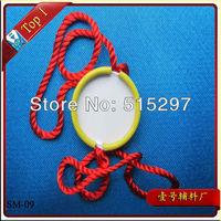 (SM-09) Free shipping high quality custom metal seal tag for clothing garment metal seal tag