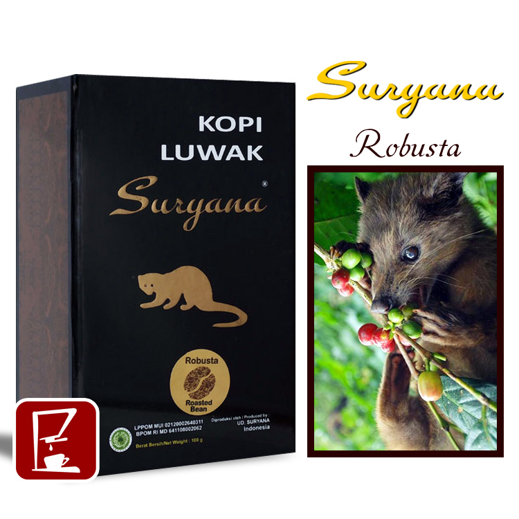 Indian civet feces coffee Nile Bastar Kopi luwak 100g