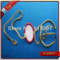 (SM-05) Free shipping high quality custom garment metal seal tag metal hang tag for high quality clothing