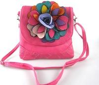 Free shipping women's handbag , Flower   Casual Purse   Shoulder Bags 23*22cm