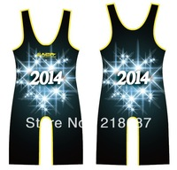 Lycra custom sublimation wrestling singlets for men
