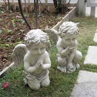 Resin angel doll decoration boy decoration crafts decoration angel sculpture