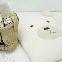 Diy material handmade kit  for ipad   protective case diy handmade materials cloth  for ipad   bag