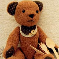 Cloth doll diy handmade diy 2004 doll magicaf handmade bear diy material