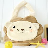 Hand for baby bibs supplies rice pocket bib newborn 100% cotton bib little lion baby bibs