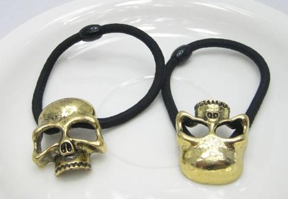 Skull Hair Band Metal Skull Hair Band