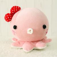 Akkadian handmade octopods plush toy dolls baby newborn toy octopus little princess doll
