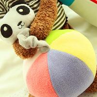 Diy toy fabric diy baby toy dolls plush ball diy multicolour patchwork ball