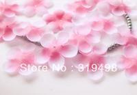 Free shipping (1000pcs/lot)Simulation cherry blossom petals wedding petals rose petals fake artificial flower  wedding decor