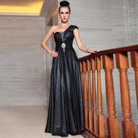 Dolly high quality formal dress black banquet evening dress female evening dress formal dress long design