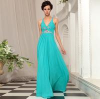 2014 evening dress bride dress chinese style evening dress V-neck long thin paragraph formal dress