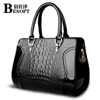 2014 new wave of female bridal handbag crocodile handbag shoulder bag diagonal package wedding package