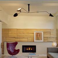 American rustic 3 ceiling light