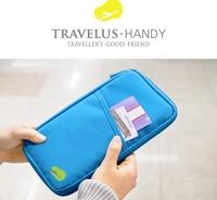 Women's Fashion Clutch Multi-Purpose Travel Wallet Passport Ticket ID Credit Card Holder Cover Organiser Bags handbag Zip
