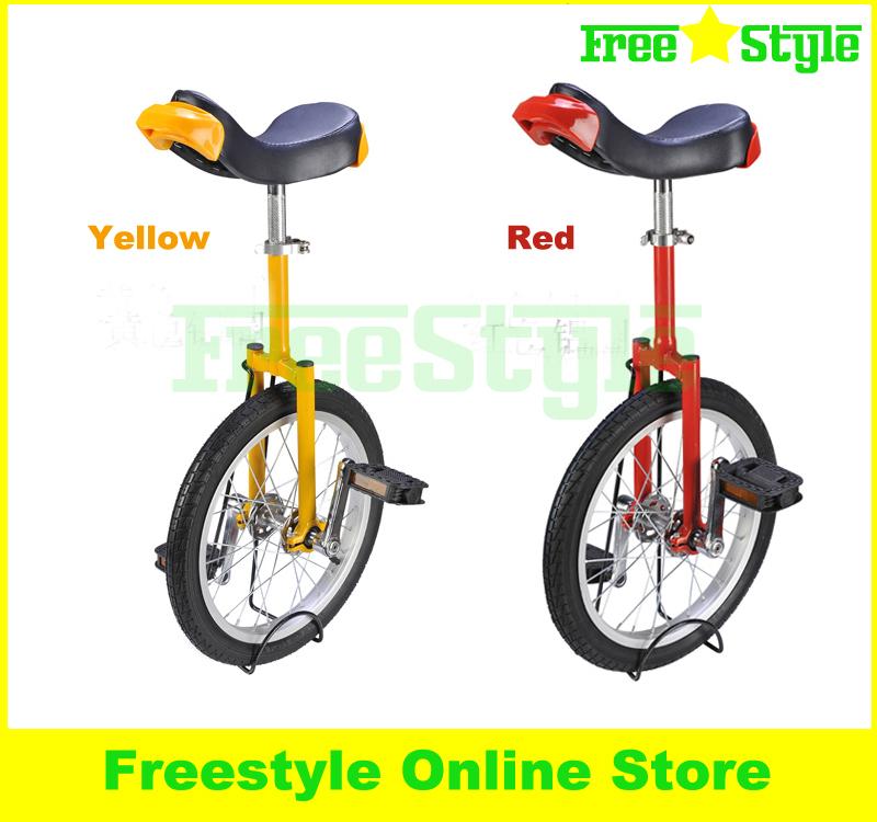 "Freestyle S1 Casual Wheelbarrow Fitness Equipment Self Balance Unicycle Child Adult Single Wheel Bike 16""'(China (Mainland))"