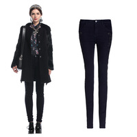 FS603 Spring New Arrival All-match Elastic Skinny Pencil Pants Trousers Denim