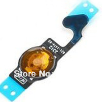 free shipping  for iphone 5 5g home button Flex Cable  Replacement Part 30pcs