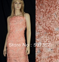 Dribbling Embroidered Sequin Mesh,Fabrics High Quality,Embroidered Shirts Fabrics,ZY20046