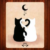 027.Cartoon cat Mouse Mat