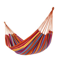 Free shipping Single hammock beach canvas hammock indoor outdoor hammock swing hanging chair
