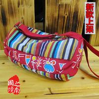 free shipping 2014 men and women bags cross-body shoulder bag  ethnic trend
