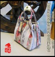 free shipping Unique 2014 bags female handbag shoulder bag  ethnic trend