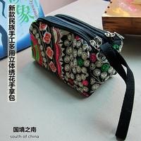 2013 handmade embroidered handbag small portable bag