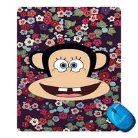 34 Cartoon mouth monkey  Mouse Mat