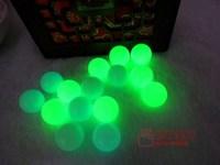 16MM-17MMLuminous natural stone luminous ball light ball nunatak decoration 2PCS/LOT