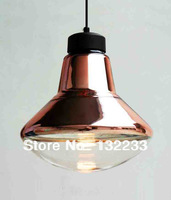 2014 New Modern designer Tom Dixon Copper  pendant lamp Dia 32cm) indoor lighting glass shade bulb e27 lamps free shipping