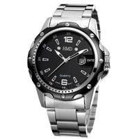 Men Quartz Stainless Steel Wrist Watch Fashion Hub Hot Outdoor Fun & Sports Relogio De Pulso Men Dress Watches Free Shipping