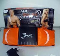 Free Shipping gym form dual shaper Electrode vibration belt massage belt massage slimming belt double function As Seen On TV