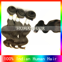 5A cheap remy indian virgin hair with closure free shipping