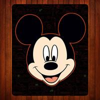 14 Cartoon Mic-key Mouse Mat