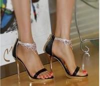 w-free shipping 2014 summer new arrivals women sandals female/ladies sexy mesh high heels/summer wedding shoes/pumps