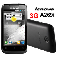 "Original Lenovo A269i 3G 3.5"" Smart Mobile Cell Phone MT6572M 1024MHz Dual Core Android 2.3 Dual SIM Cards Multi-Language"