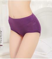 Excellent quality women solid panties 95%bamboo fiber everyday briefs female underwear 6pcs/lot sizeL,XL,2XL,3XL  free shippig