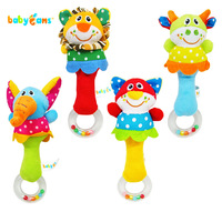 Baby educational toys rattles, born infant rattles, baby toys appease