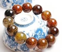 12MM Crystal natural crystal dragon agate bracelet agate stone