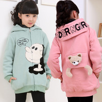 free shipping Children's clothing autumn new arrival 2014 fashion long-sleeve large sweatshirt reversible 12c009