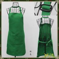 Aprons work wear cake green apron