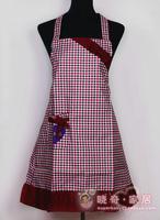 Bow waterproof kitchen apron beautiful fashion aprons work wear