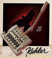 Kahler Electric Guitar Bridge Tremolo System Gold 7200
