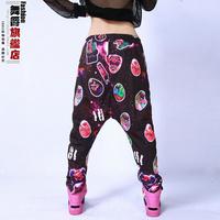 Harajuku female harem pants ds costume hiphop hip-hop hiphop jazz dance loose pants