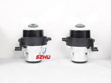 Car Front Bumper Bifocal Lens Fog Lamp Assembly Kit case for SCION IQ XB TC Toyota