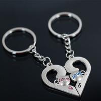 Popular couple key chain lock key chain gift
