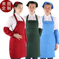 Aprons customize logo korea style work aprons waiter aprons free shipping