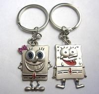 Cartoon couple key chain key chain