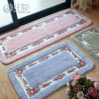Lucky rustic water-resisting slip-resistant mats carpet doormat mat absorbent bath mat